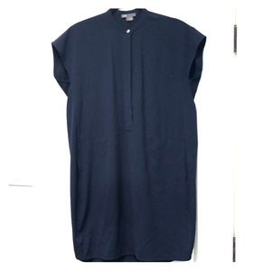 Vince navy blue sleeveless dress sz Small